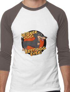Wiener Dog - the Best Dog Ever Men's Baseball ¾ T-Shirt