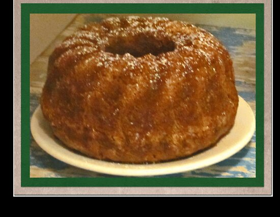 The yummiest homemade Zucchini Bundt ever! by Choux