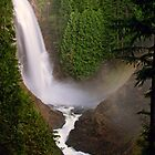 Middle Wallace Falls - Wallace Falls State Park, WA by Mark Heller