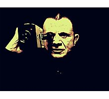 Lost highway - mystery man Photographic Print