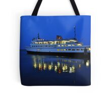 Boat in Block Island Tote Bag
