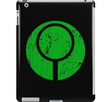 Marathon / Halo Symbol (Green) iPad Case/Skin