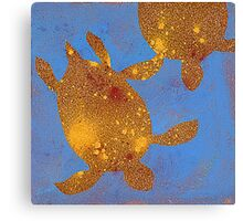 Abstract Sea Turtle #1 Canvas Print