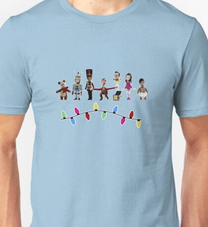Stop Motion Christmas - Style E Unisex T-Shirt