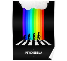 99 Steps of Progress - Psychedelia Poster
