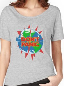 People of Earth, Don't Panic! Women's Relaxed Fit T-Shirt