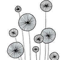 Dandelions by Aleksandra Kabakova