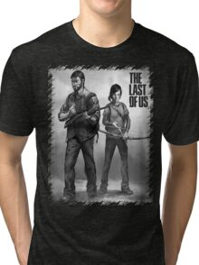 The Last of us Joel and Ellie Tri-blend T-Shirt