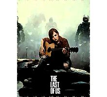 The Last of us Grown Ellie Photographic Print