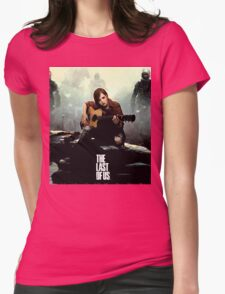 The Last of us Grown Ellie Womens Fitted T-Shirt
