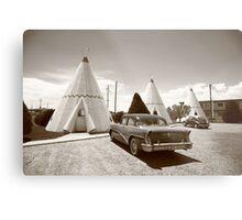 Route 66 Wigwam Motel Metal Print