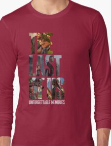 The Last of us Unforgettable Memories Long Sleeve T-Shirt