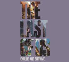 The Last of us Endure and survive Kids Tee