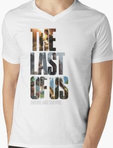 The Last of us Endure and survive Mens V-Neck T-Shirt