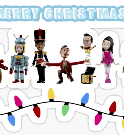 Stop Motion Christmas - Style H Sticker