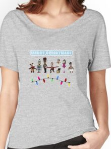 Stop Motion Christmas - Style H Women's Relaxed Fit T-Shirt