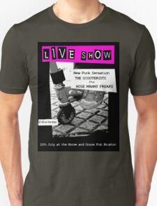 Retro Scooterist Punk Poster T-Shirt