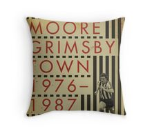 Kevin Moore - Grimsby Town Throw Pillow