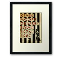 Kevin Moore - Grimsby Town Framed Print