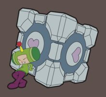 Katamari Companion Cube by ThatsMyTrunks