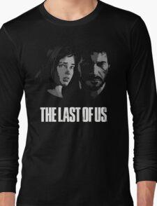 Joel and Ellie the last of us Long Sleeve T-Shirt