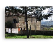 Good Morning Tuscany Canvas Print