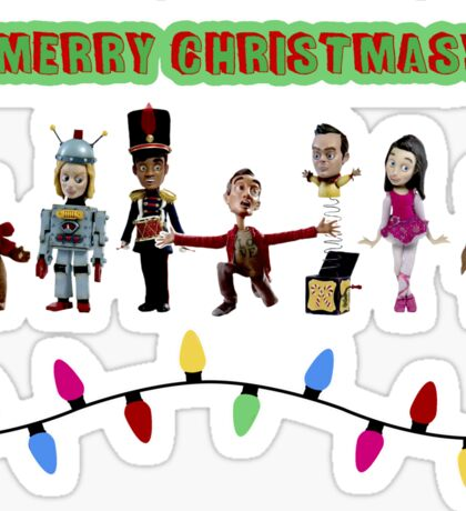 Stop Motion Christmas - Style F Sticker
