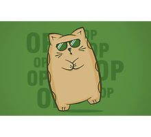Gangnam Kitty Photographic Print