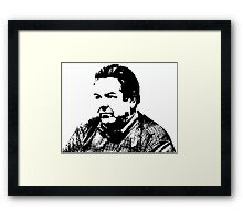Jerry Gergich - Parks and Recreation Framed Print