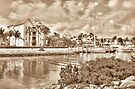 Entrance Canal to Harbour Village on Paradise Island - Nassau, The Bahamas by Jeremy Lavender Photography