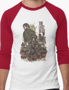 The Last Of Us Artwork Men's Baseball ¾ T-Shirt
