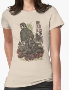 The Last Of Us Artwork Womens Fitted T-Shirt