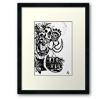 052 Framed Print