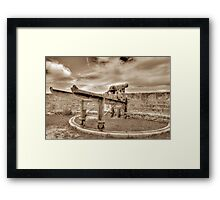 Fort Fincastle in Nassau, The Bahamas Framed Print