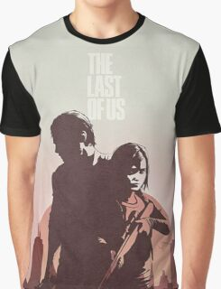 Joel and Ellie The Last of us Graphic T-Shirt