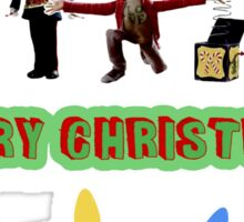 Stop Motion Christmas - Style G Sticker