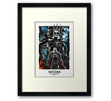 The Witcher Wild Hunt Framed Print