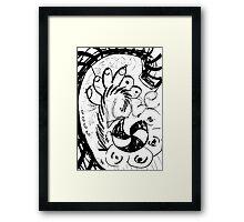 055 Framed Print