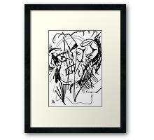 056 Framed Print