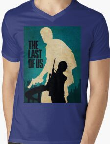 The Last Of Us Road to survival Mens V-Neck T-Shirt