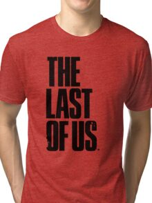 The Last of us Black Tri-blend T-Shirt