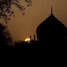 Sunset in India by A. Duncan