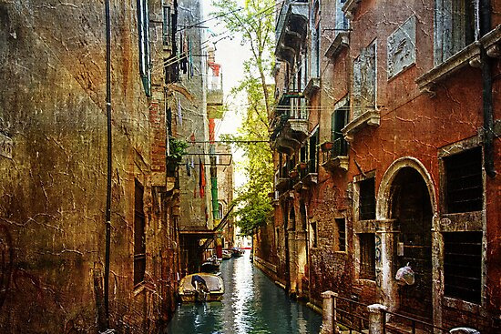 Venetian Canal by Robyn Carter