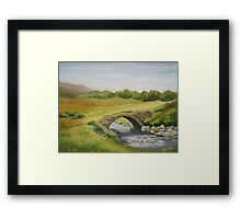 Bridge in Donegal Framed Print