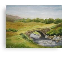 Bridge in Donegal Canvas Print