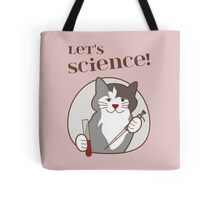 Let's Science Scientist Cat Tote Bag