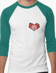 VW Heart Men's Baseball ¾ T-Shirt