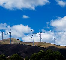 Manawatu Gorge Wind Farm by Yukondick