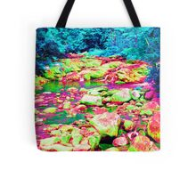Psychedelic Stream Tote Bag