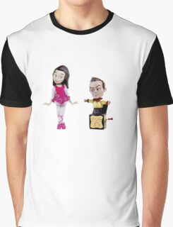 Stop Motion Christmas - Jeff/Annie (Style A) Graphic T-Shirt